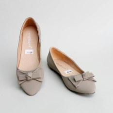 Gratica Sepatu Flat Shoes KH28 - Abu