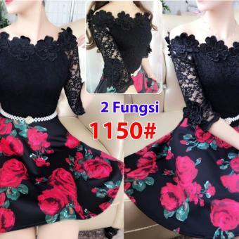 Grosir Dress-1150 Black