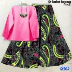 IDR 82.900 (82.900,00 €) each GSD-Setelan Baju Celana Kulot Batik