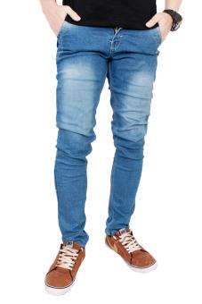 Gudang Fashion - Celana Jeans Panjang - Biru