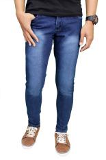Gudang Fashion - Celana Jeans Panjang - Navy