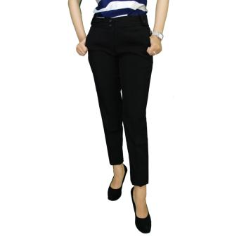Gudang Fashion - Celana Panjang Wanita Kerja - Hitam