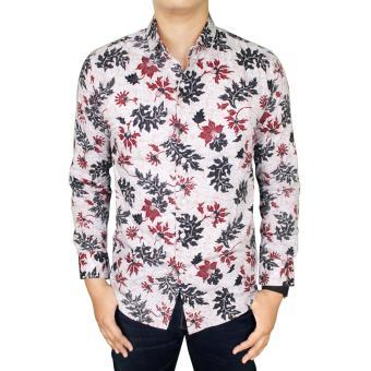 Gudang Fashion - Kemeja Batik Modern Pria - Krem