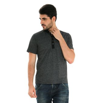 Hammer Fashion Polo Shirt Pria - Hitam