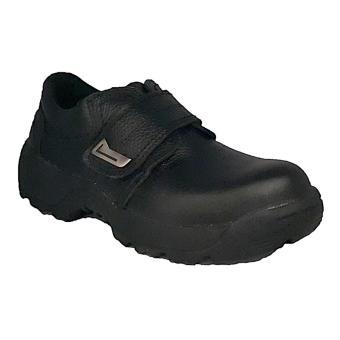 Handymen SF 04 dress safety shoes genuine leather - Black
