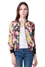Hanyu Women Short Coats Fashion Jackets Stand Collar Multicolor