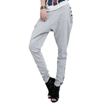 Harem Pants Trousers(gray)