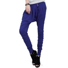 Harem Pants Trousers (Blue)