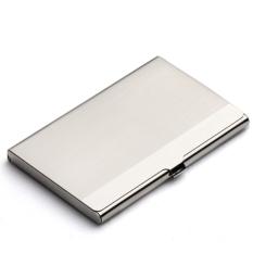 HengSong Cardcase Bisnis Pemegang Kartu Kredit Perak