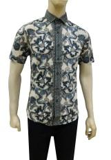 Herman Batik Kemeja Batik Slimfit B7799 Baju Fashion Pria Muslim Koko Jeans