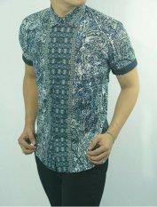 Herman Batik Kemeja Batik Slimfit S891B Baju Fashion Pria Muslim Koko Jeans