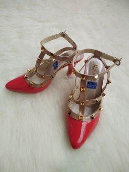 High Heels Sepatu wanita Merah - S217