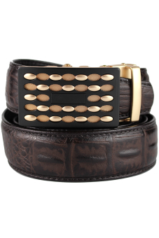 High Quality Crocodile Pattern Belt Boss