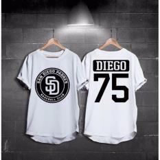 HIGH5 Fashion Pria Kaos Lengan Pendek Diego - Putih