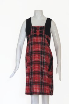 HMILL Baju Hamil Dress Hamil 928 - Merah
