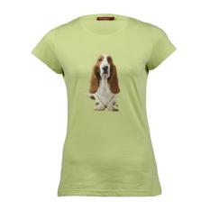 Hush Puppies Pakaian Kaos Wanita Bones - Hijau
