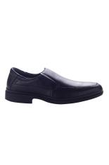 Hush Puppies Sepatu Formal Pria Verco Loafers - Hitam