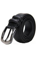 HY02 Genuine Leather Belt (Black)
