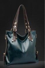 ILife 2015 New Women Messenger Bags Fashion Genuine Leather Handbag Portable Shoulder Bag Crossbody Bolsas Women Leather Handbag Tote Green
