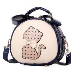 ILife Bags For Women Messenger Bags Shoulder Bag Ladies Brand Leather Handbag Purse Cute Cat Bag Bolsas Blue