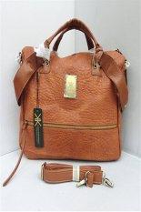 Ilife Large Capacity Pu Leather Handbags Famous Brand Kardashian Kollection Kk Bag Women Shoulder Bags New Female Big Fashion Bag Brown