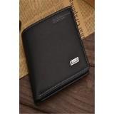 Ilife Vintage Men Wallets Genuine Leather Purse Short Casual Male Card Holder Carteira Brand Wallet Black