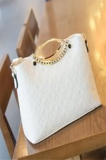Ilife Women's Handbag Shoulder Bags Ladies Handbags Tote Bag Women Famous Brand PU Leather Bags Bolsos Bolsas Femininas Couro White