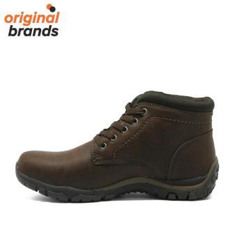 Sepatu Weinbrenner Casual Lima-Dark Coklat-Sepatu Pria-Sepatu Bata
