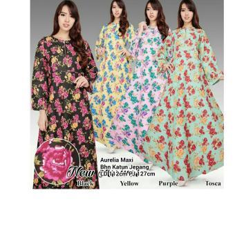 Dress overall jeans panjang gamis wanita jumbo long dress Juwina. Source · Harga Terbaru SB