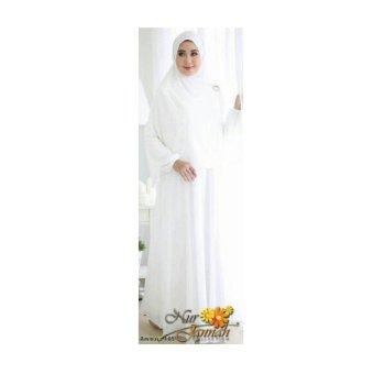 Ayako Fashion Maxi Amirah - Putih