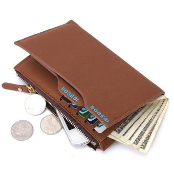BOGESI dompet pria dengan telepon dan coin bag tas pria warna