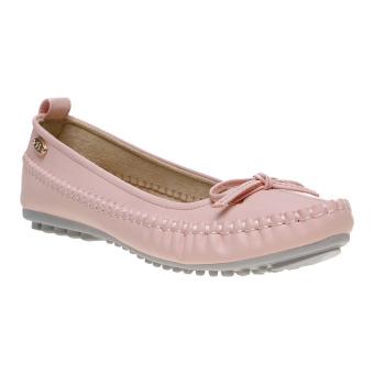 Bata Valor Flat Shoes - Peach
