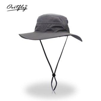 Bucket Hats Wide Brim For Men Women Fishing Camping Hunting Camouflage Hats Cap Outdoor Sun Hat Cap - intl