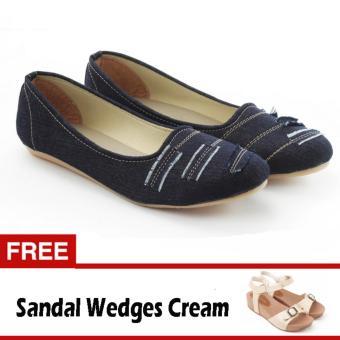 Review Dan Harga 2nd Red 121125 Jeans Fashion Scraft Wifing Hitam Source · Yutaka Flat Shoes