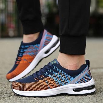 Harga Pria Olahraga Sepatu Bernapas Menjalankan Sepatu Nyaman Sepatu Casual Men Outdoor Sports Shoes Running Shoes