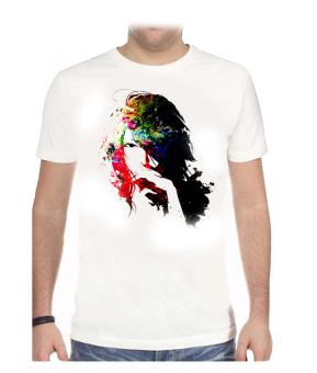 11gfn T-Shirt Painting Girl - Putih