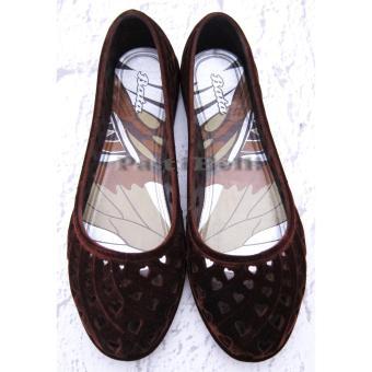 Bata Sepatu Wanita Cantik 552-4089 Coklat Tua