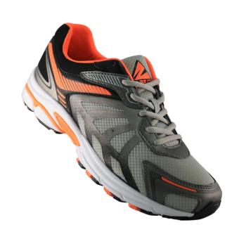 Sepatu 2Beat Running - Orange White Grey