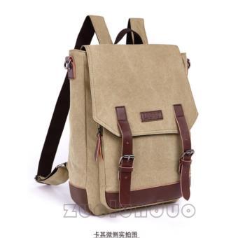 Zuo Lun Duo Shoulder Bag Labtop Space [khaki]