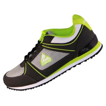 2Beat Keyza Lifestyle Shoes - Green White Grey Black