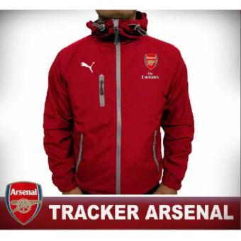 harga Jaket Anti Air Tracker Arsenal Lazada.co.id