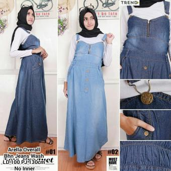 ... 168 Collection Dress Narika Jeans Overall Biru Tua Harga Daftar Source Harga Spesifikasi Sb Collection Arella