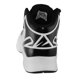 2Beat Warriors Sepatu Basketball - Black White