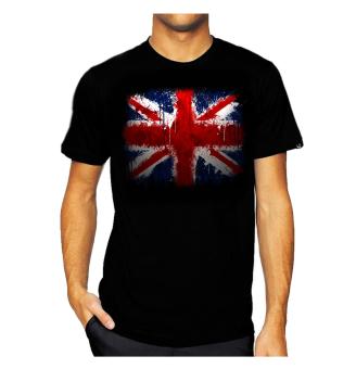 11gfn T-Shirt England Flag - Hitam