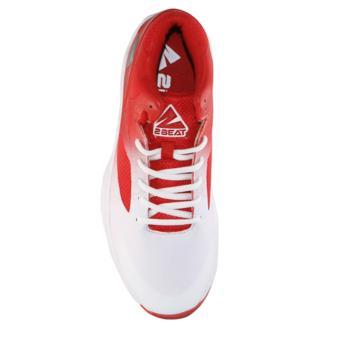 2Beat Wolves Sepatu Basketball - Red White