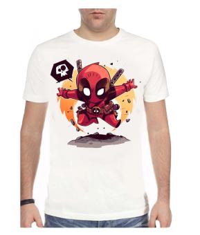 11gfn T-Shirt Dead Pool - Putih
