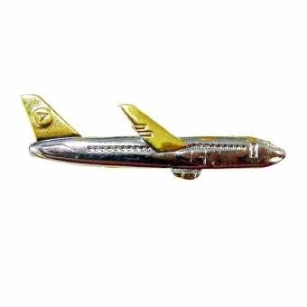 harga VM Pin Jepit Dasi - Pesawat Gold Lazada.co.id