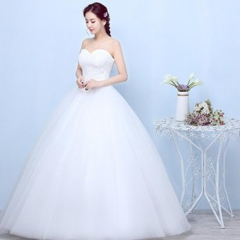 Gaun Pengantin Putih Wedding Gown Wedding Dress 2016 09007 Source Sweet Wedding Dress .