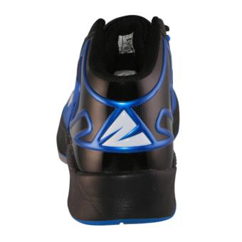 2Beat Warriors Sepatu Basketball - Black Blue