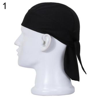 PAlight Men Women Outdoor Cycling Running Mask Skull Scarf Doo Rag Bandana Cap Hat - intl